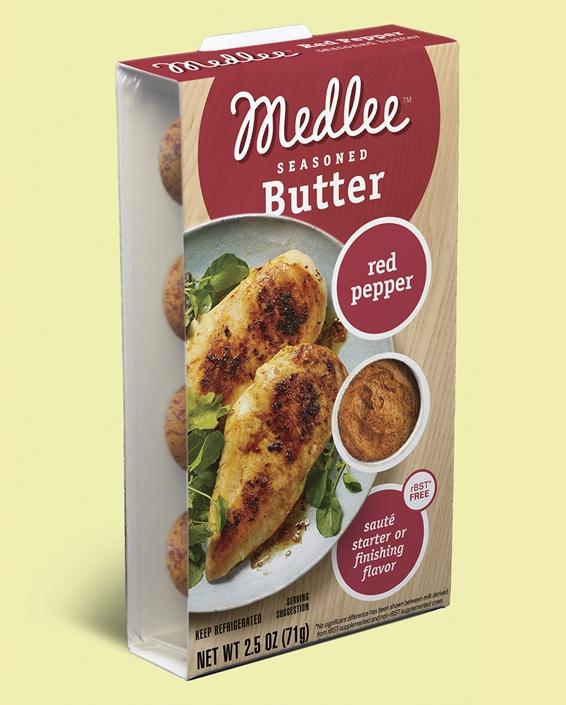 Red Pepper Seasoned Butter